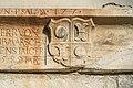 Sankt Veit Wayer Strasse 19 Schloss Weyer Supraporte Wappenrelief Khuenburg 14122016 4649.jpg