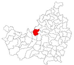 Location of Sânpaul