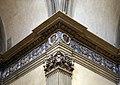 Santa maria delle carceri, interno, fregio di andrea della robbia, 1492-95, 06 capitelli di lorenzo di salvatore su dis. di g. da sangallo.jpg