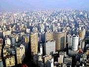 São Paulo, in Brazil, is a modern global city.