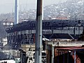 Sarajevo 19.3.1996 war (stadium).JPG