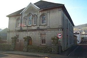 Saron, Aberaman - Saron chapel, Aberaman in 2008