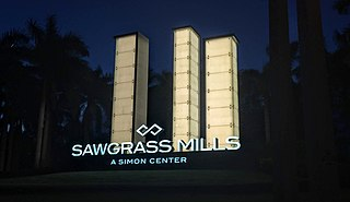 Sawgrass Mills Large shopping mall in Sunrise, Florida