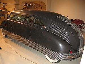 Fastback - Art Deco fastback: 1935 Stout Scarab