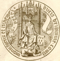 Sceau de Pierre II - Duc de Bretagne.png