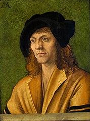 Portret mężczyzny w żółtym kaftanie