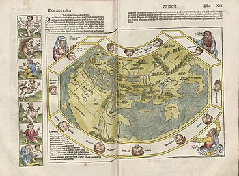 Schedel world map