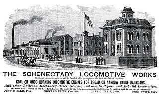 Schenectady Locomotive Works Defunct locomotive manufacturer in Schenectady, New York, United States