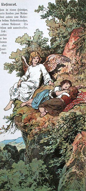 Snow-White and Rose-Red - Image: Schneeweisschen und Rosenrot 2