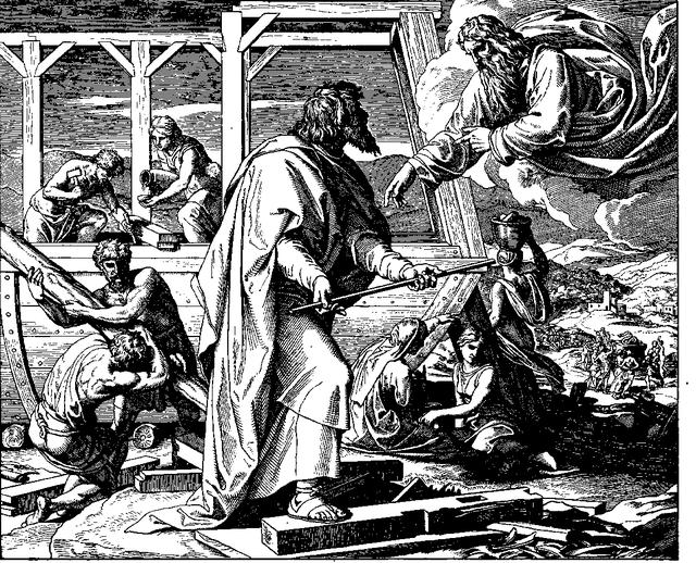 Schnorr von Carolsfeld Bibel in Bildern 1860 016
