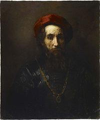 School of Rembrandt - Portrait of a Rabbi.jpg
