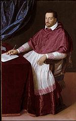 Cardinal Ferdinando de' Medici, later Grand Duke Ferdinando I of Tuscany