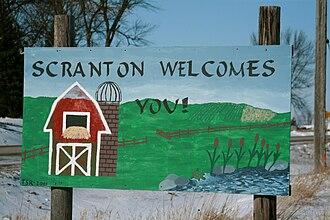 Scranton, Iowa - Image: Scranton Iowa 20080118 Sign