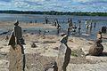 Sculpture de pierres balancées des rapides Remic Ottawa 7.JPG