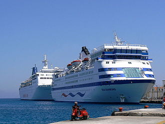 MS Sea Diamond - Image: Sea Diamond and Sky Wonder