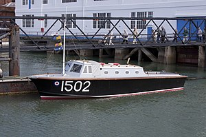 Royal Air Force Marine Branch - RAF seaplane tender 1502, in. 2011.