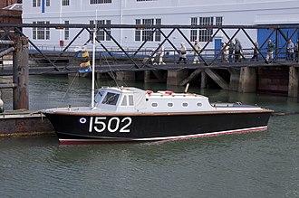 Seaplane tender - RAF seaplane tender 1502, in. 2011.
