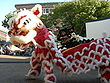 Seattle ID night market - lion dance 06