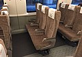 Second class seats of CR400AF-0207 (20170307101638).jpg
