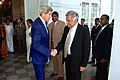 Secretary Kerry Bids Farewell to Sri Lankan Prime Minister Wickremesinghe at the Kelaniya Temple in Colombo (17154085180).jpg