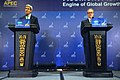 Secretary Kerry and Ambassador Froman Speak to the Press at the APEC Ministerial Meetings in Indonesia (10099211594).jpg