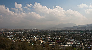 Section of Kabul in October 2011.jpg
