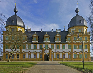 Schloss Seehof palace in Memmelsdorf, Germany