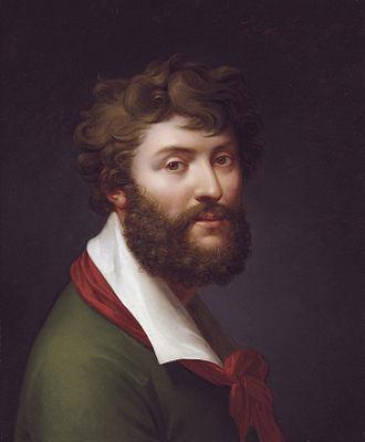 Jean-Baptiste Regnault - Self portrait by Jean-Baptiste Regnault