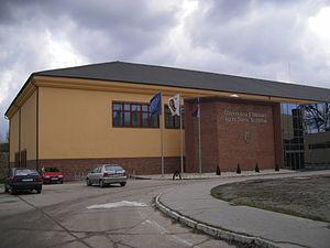 Selye János University - The new building of J. Selye University, 2006
