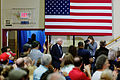Senator of Vermont Bernie Sanders at Derry Town Hall, Pinkerton Academy NH October 30th, 2015 by Michael Vadon 03.jpg