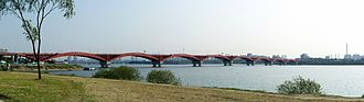 Seongsan Bridge - Image: Seongsan Bridge