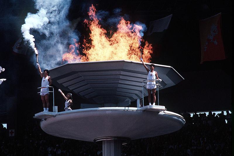 Fichier:Seoul Olympic torch.jpg