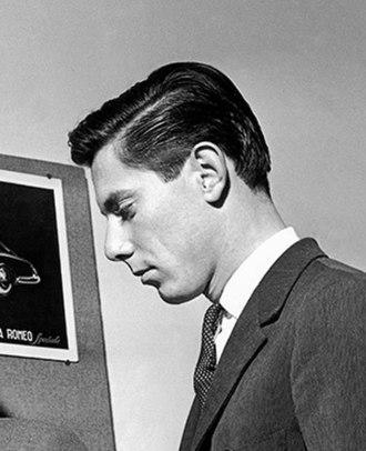 Sergio Pininfarina - Sergio Farina in 1950