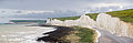 Seven Sisters Panorama, East Sussex, England - May 2009.jpg