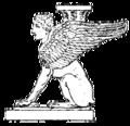 Sfinxformig romersk bordsfot, Nordisk familjebok.png