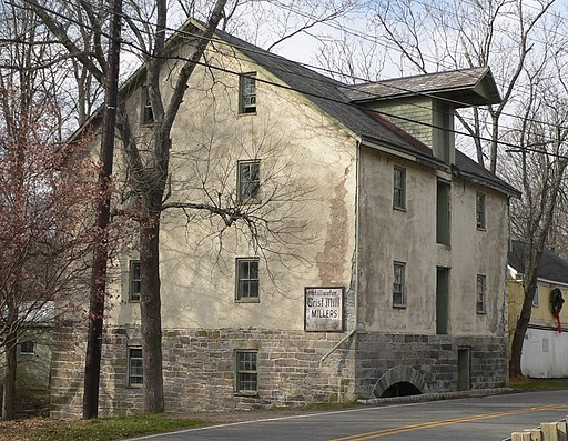 Shafer Grist Mill (Stillwater, NJ) from SE 1