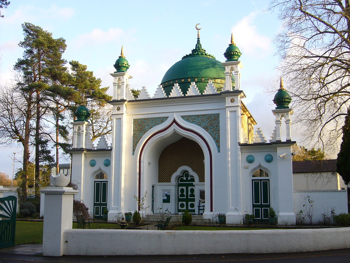 Shah Jahan Mosque Woking Wikipedia