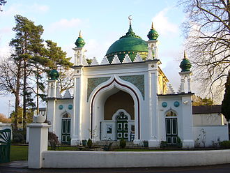 "Lahore Ahmadiyya Movement for the Propagation of Islam - Shah Jahan Mosque in Woking, temporarily run by the ""Lahore Ahmadiyya Movement"" from 1913 until the mid-1960s"