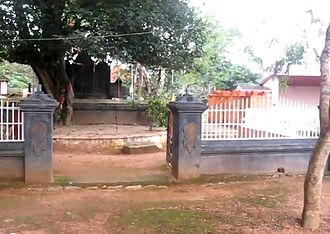 Shakuni - Temple dedicated to Shakuni at Pavithreswaram in Kollam District, Kerala