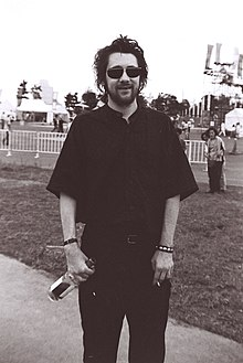 MacGowan at the WOMAD festival, Yokohama, Japan, early 1990s