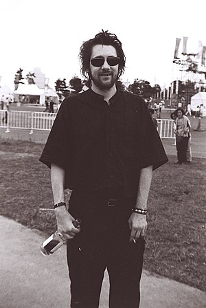 Shane MacGowan - Shane MacGowan at an early 1990s Womad festival in Yokohama, Japan