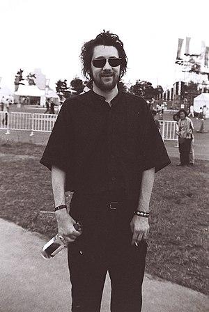 Shane MacGowan - Shane MacGowan at an early 1990s Womad festival in Yokohama, Japan