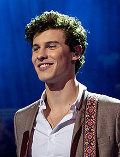 Shawn Mendes Shawn Mendes at The Queen's Birthday Party (cropped 2).jpg