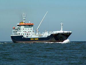 Ship Scanvik p1 approaching Port of Rotterdam.jpg