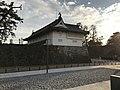 Side view of Shachinomon Gate of Saga Castle.jpg