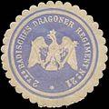 Siegelmarke 2. Badisches Dragoner Regiment No. 21 W0379392.jpg
