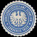 Siegelmarke Bürgermeister-Amt Schweich Landkreis Trier W0382887.jpg