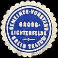Siegelmarke Gemeinde - Vorstand Gross - Lichterfelde - Kreis Teltow W0212759.jpg