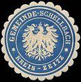 Siegelmarke Gemeinde Schellbach Kreis Zeitz W0382871.jpg