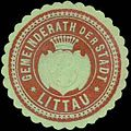 Siegelmarke Gemeinderath der Stadt Littau W0318471.jpg